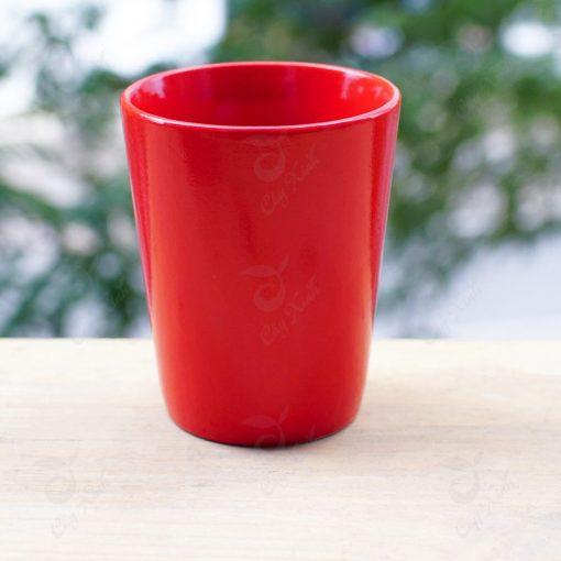 chậu cây cảnh - chậu gốm sứ cốc tròn